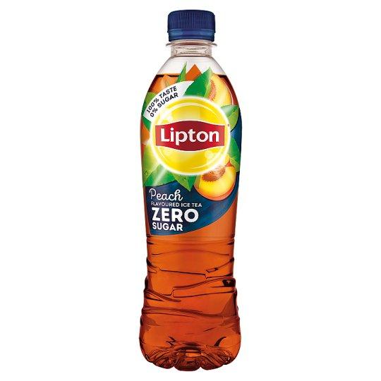 Lipton Ice Tea Zero energiamentes őszibarackízű szénsavmentes üdítőital édesítőszerekkel 500 ml