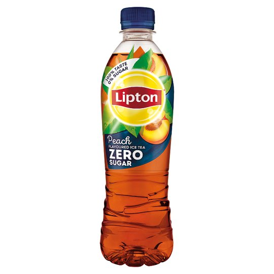 Lipton Ice Tea Zero Energy-Free Peach Flavoured Non-Carbonated Drink with Sweeteners 500 ml