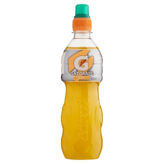 Getorade Still Orange Flavoured Isotonic Sport Drink with Sugar and Sweeteners 500 ml