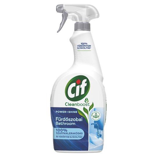 CIF Power & Shine Vízkőoldó Spray 750 ml