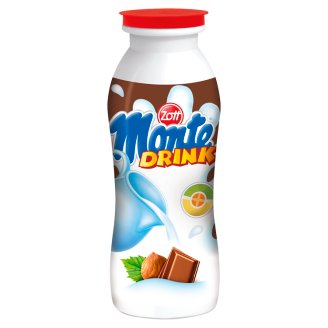Zott Monte Drink Milk Drink with Chocolate & Peanut 200 ml