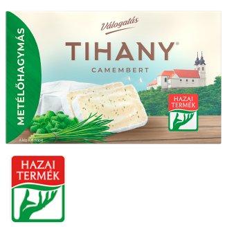 Tihany Válogatás Szendvics Camembert metélőhagymás zsíros lágysajt 120 g