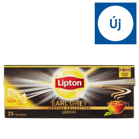 Lipton Earl Grey Lemon Flavoured Black Tea 25 Tea Bags