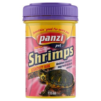 Panzi Turtle Big Shrimp Dried Pet Food for Turtles 135 ml