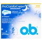 o.b. ProComfort Night Normal Tampons 48 pcs
