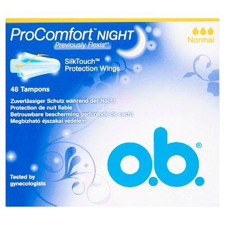o.b. ProComfort Night Normal Tampons 48 pcs