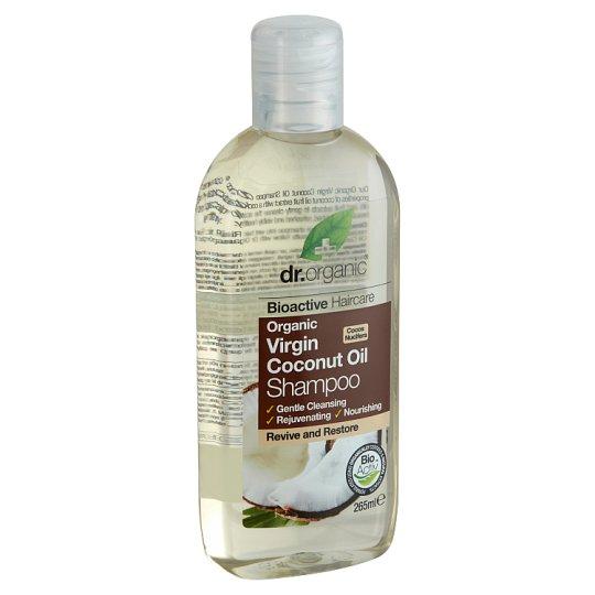 Dr. Organic Bioactive Haircare sampon BIO szűz kókuszolajjal 265 ml
