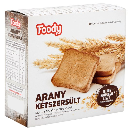 Foody Whole Wheat Golden Rusk 220 g