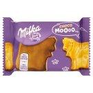 Milka Choco Moo alpesi tejcsokoládéval talpán mártott keksz 40 g