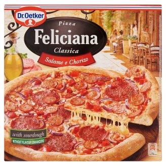 Dr. Oetker Feliciana gyorsfagyasztott pizza Chorizo szalámival és szalámival 320 g