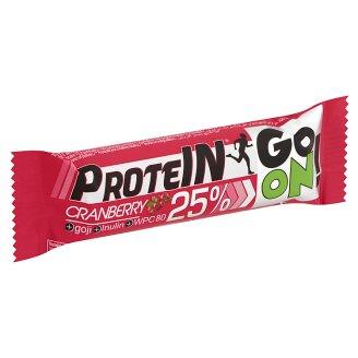 Protein Go On! fehérje-tartalmú áfonya-gojibogyó ízű szelet inulinnal és tejcsokoládéval 50 g