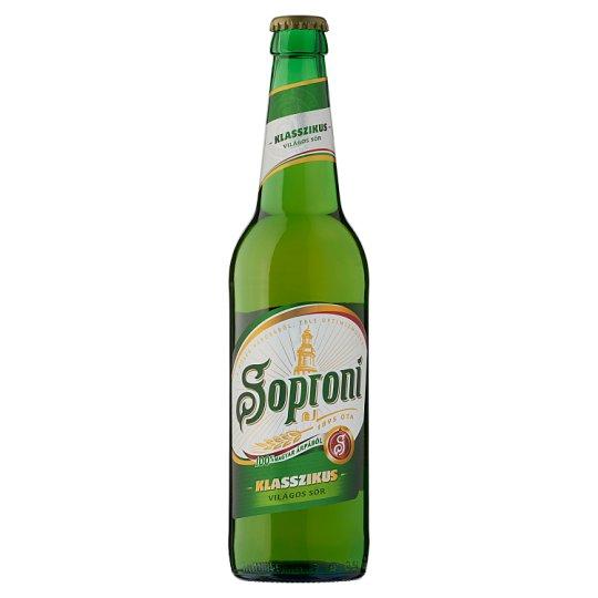 Soproni Klasszikus Lager Beer 4,5% 0,5 l Bottle