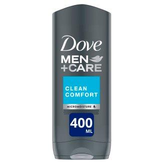 Dove Men+Care Clean Comfort férfi tusfürdő testre és arcra 400 ml