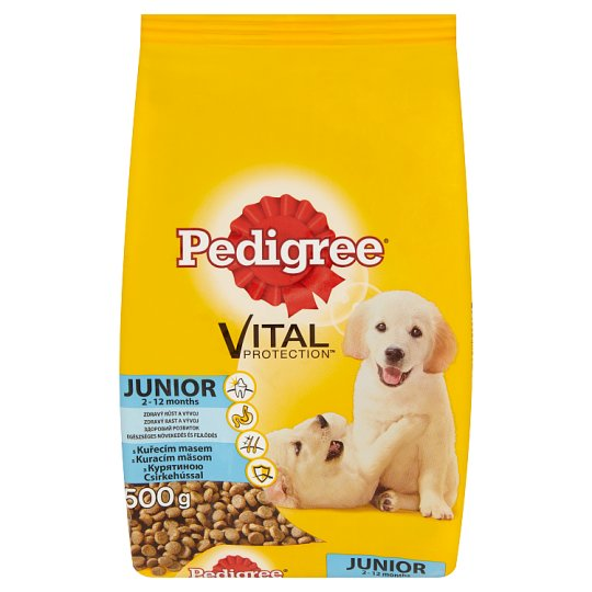 Pedigree Vital Protection Junior Complete Pet Food for Puppies with Chicken 500 g