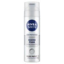 NIVEA MEN Silver Protect Shaving Foam 200 ml