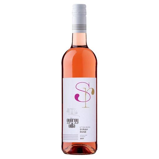 György-Villa Etyek-Budai Syrah Rosé száraz rosébor 750 ml