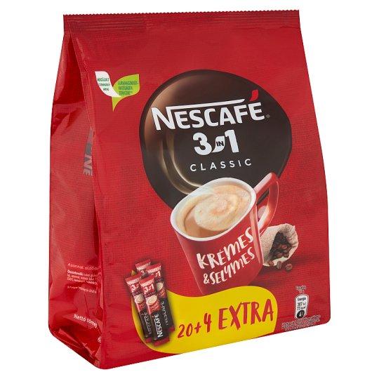 Nescafé 3in1 Classic azonnal oldódó kávéspecialitás 24 db 408 g
