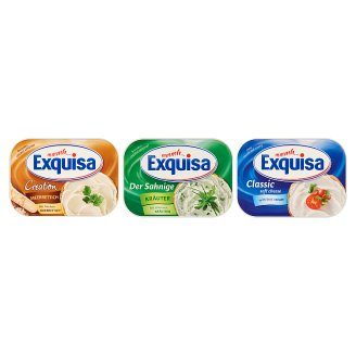 Exquisa Unflavoured Fat Soft Cheese 200 g