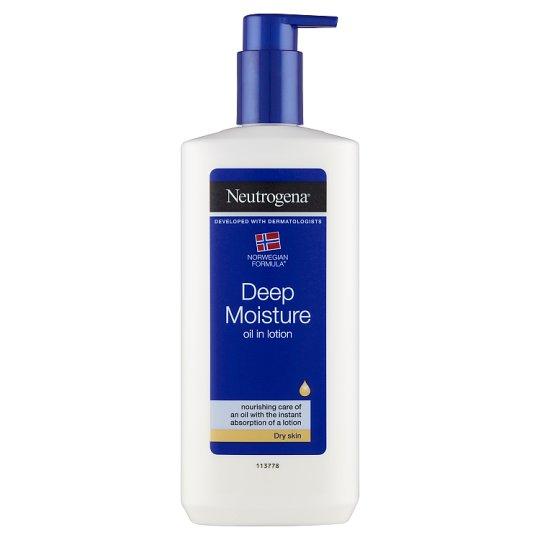 Neutrogena Norwegian Formula Deep Moisture Body Lotion with Natural Oil for Dry Skin 400 ml