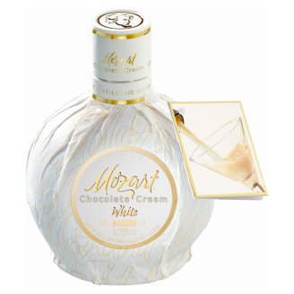 Mozart White Chocolate Vanilla Cream fehércsokoládé krémlikőr 15% 0,5 l