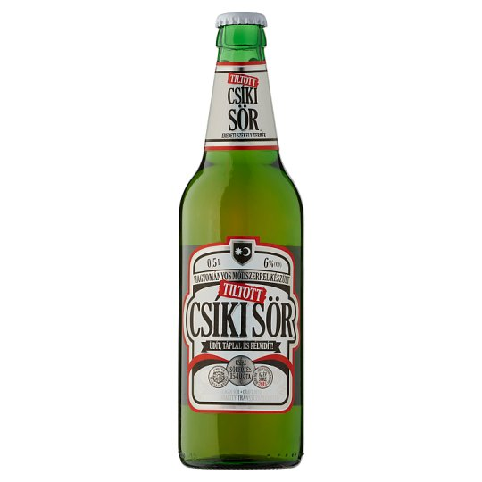 Tiltott Csíki Craft Beer 6% 0,5 l