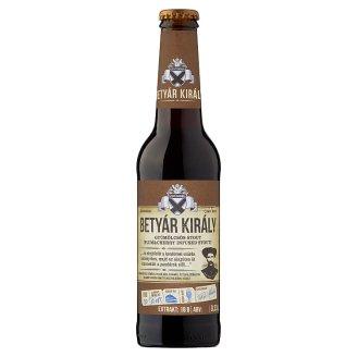 Szent András Betyár Király gyümölcsös fekete sör 7% 0,33 l
