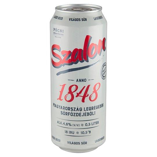 Pécsi Szalon világos sör 4,6% 0,5 l