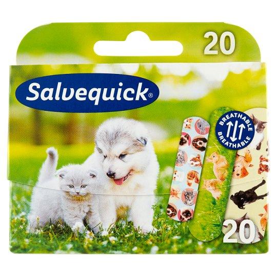 Salvequick Animals Plaster 20 pcs