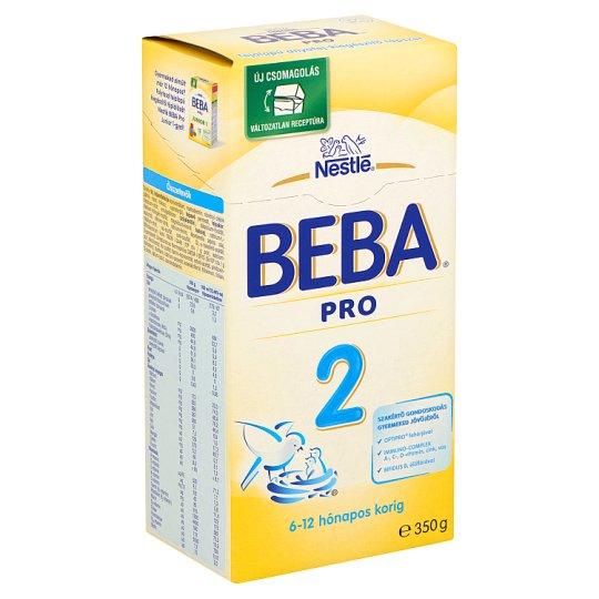 Beba Pro 2 tejalapú anyatej-kiegészítő tápszer 6-12 hónapos korig 350 g