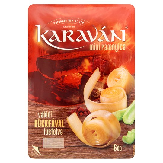 Karaván Mini Parenica Smoked Cheese 6 pcs 95 g