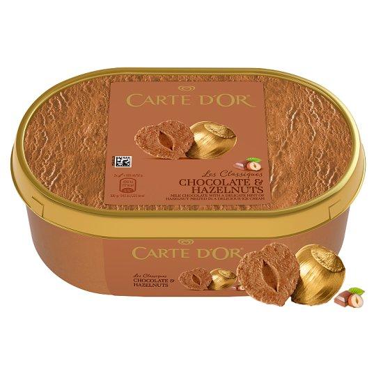 Carte D'Or Mogyorós Csokoládés Jégkrém 1000 ml