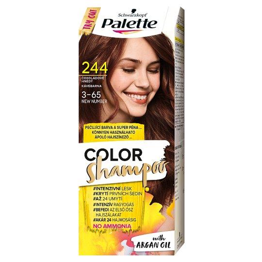 Schwarzkopf Palette Color Shampoo Hair Colorant 3-65 Coffee Brown (244)