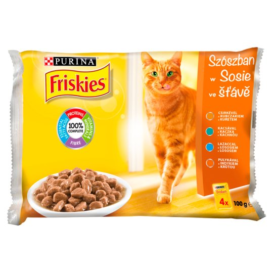 Friskies Multipack Aspic Selection 4 x 100 g