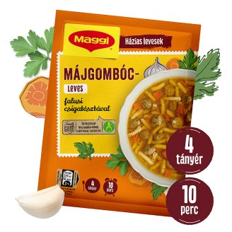 Maggi Liver Dumpling Soup with Rustic Spiral Pasta 60 g