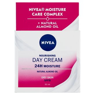NIVEA Essentials Nourishing Day Cream for Dry and Sensitive Skin 50 ml