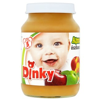 Dinky Gluten and Dairy-Free Apple with Peach Baby Dessert 5+ Months 190 g