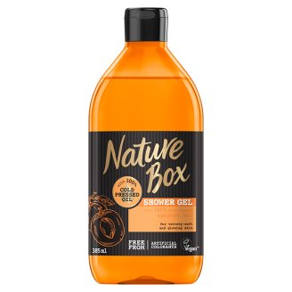 Nature Box Shower Gel with Cold Pressed Apricot Oil 385 ml