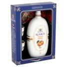 Várda Distillery Ó-Barack Peach Palinka in Hollóházi Porcelain Flask with 2 Glasses 40% 0,5 l