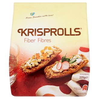 Krisprolls Fiber ropogós kenyérkék 225 g