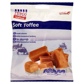 Tesco Value Soft Toffee 400 g
