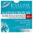 Eveline Cosmetics bioHyaluron 4D 40+ koncentrált nappali/éjszakai krém 50 ml