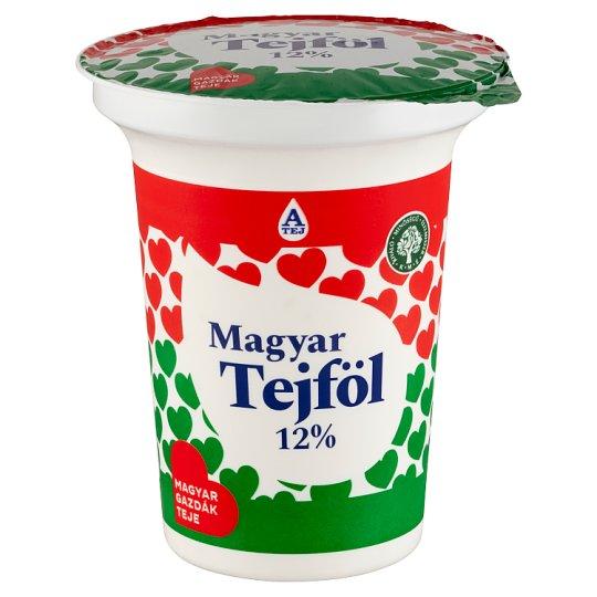 Magyar Tejföl 12%-os félzsíros tejföl 330 g