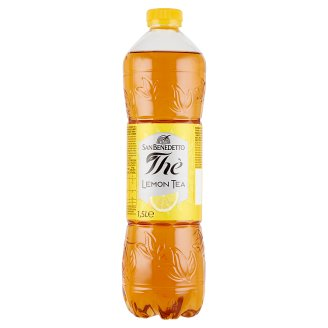 San Benedetto Lemon Ice Tea Flavoured Drink with Sugar and Sweetener 1,5 l