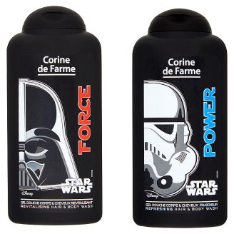 Corine de Farme Star Wars Force vagy Power tusfürdő és sampon 250 ml