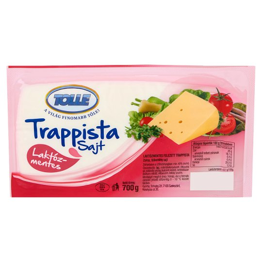 Tolle Lactose-Free Fat, Semi-Hard Trappist Cheese 700 g