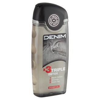 Denim Black tusfürdő 250 ml