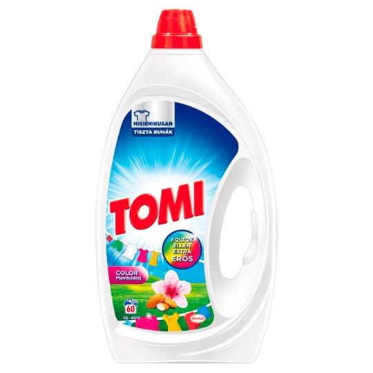 Tomi Sensitive Color Almond Milk Liquid Detergent 60 Washes 3 l