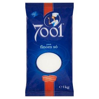 7001 jódozott párolt finom só 1 kg
