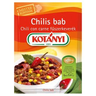 Kotányi Mesterkonyhák chilis bab chili con carne fűszerkeverék 25 g