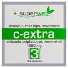 Superwell C-Extra Dietary Supplement Capsules 54 pcs 44 g